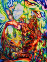 Psychedelic Cavern by Megacosmichroma