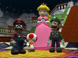 No SSB3 First Scene For Now. by SuperSmashBrosGmod