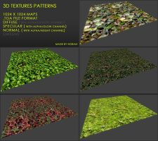 Free textures pack 33 by Nobiax