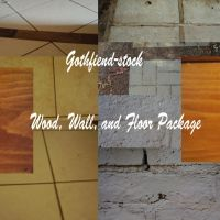 wood wall and floor package by gothfiend-stock