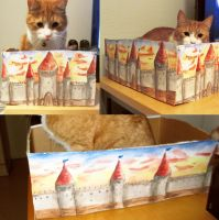 Cat fortress by Mobicca