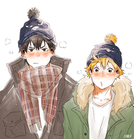 [Haikyuu!!] HATS by a-zebra-was-here