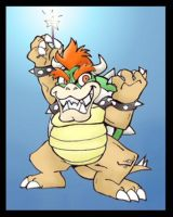 Crazy Bowser by ChemicalAlia