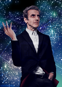 The Twelfth Doctor by echxinthedark