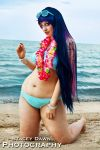 Stocking at the Beach by lunar-maiden