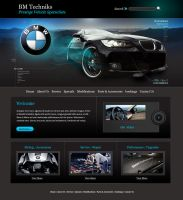 Web Design for BM Techniks by adamVilla