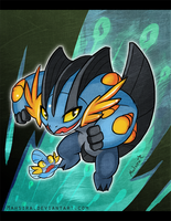 Mega Swampert by Mahsira