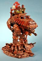 Ork Walker, Junk Yard Dog by billking