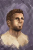 Alistair Theirin. Dragon Age Origins by polinaart1
