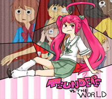 tsundere vs the world by bugcatchers
