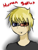 I Gave Myself 10 Minutes to Draw Human Sollux by FrenchiestToast