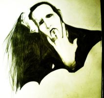 Marilyn Manson by kING13Freak