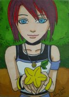 Kairi ACEO commission by LadyNin-Chan