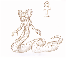 Naga from the Nile by Morgoth883