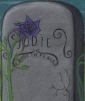 Grave flower by gothicpoizonivy