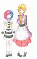 Momo and Ayane  other costume by Courage-Earthworm8