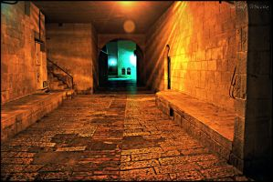 Alley in Jerusalem 2 by ShlomitMessica