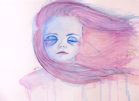 The Listening Silence by inaquarelle