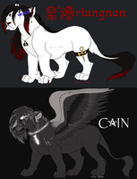 Cain and D'Atangnan by TruLion