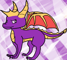 Spyro the Dragon by coreooo