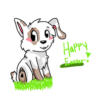 Happy Easter by FluffyMutt