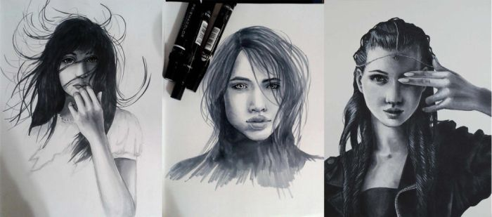 Marker sketches by immobileFreedom