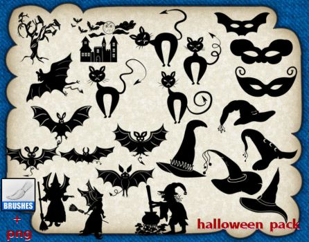 Halloween Pack by roula33