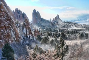 Garden of the Gods by GryphonVisArts