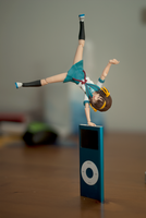 iPod Handstand by AlbinoGrimby