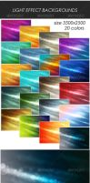 Light Effect Backgrounds by M3-f-web
