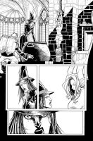 OzF5 Witch and Dorothy hangin by RyanOttley