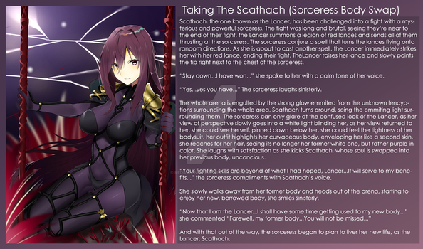Taking the Scathach (Sorceress Body Swap) by RedQueenAkame