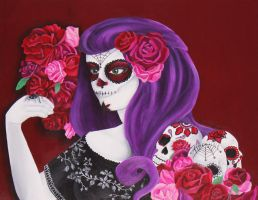 Day of the Dead by LoveAllThingsIrish