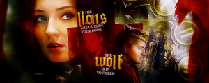 Lions and Wolves by samigirl90