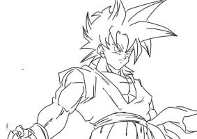 SSJ Goten by darkhawk5