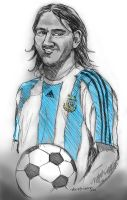 Messi - Caricature by axis000