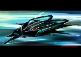 F-98 Fighter Jet Concept by Kronium