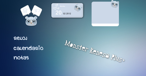 Skin Rainmeter - Monster Kenesa Plus+ by nicolelastar
