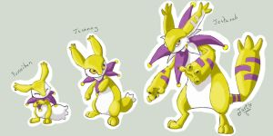 Fakemon- Psychic Starter by Turtle-Arts