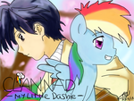 Clannad: My Little Dashie by scootalootheotaku007