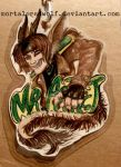 Mr. Artist Dragon Con badge by MortaleRedWolf