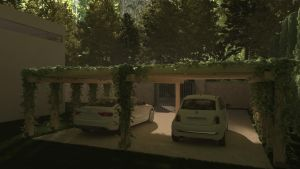 House in the woods, view 2.2 by angelujo