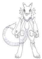 Renamon stand by by Taurustiger86