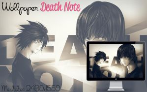 Wallpaper DEATH NOTE by jessy-izan