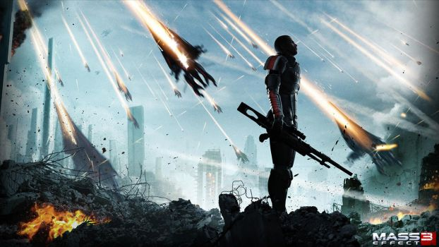 Mass Effect 3 by Artfall