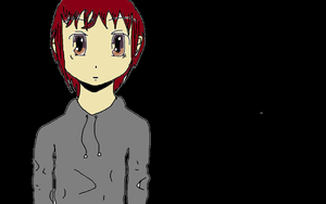 anime boy with backround (complete) by justtobeyou