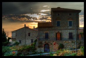 House of the setting sun by rubseb