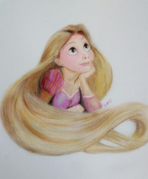 Rapunzel by ni5hitha