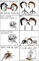 Rage Comic: 'Perverted' Rage by BabysmoothMJ01
