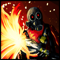 The Pyro by Anzhyra